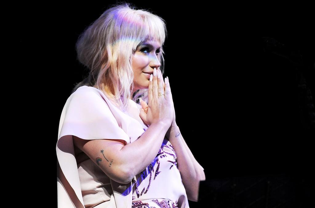 Kesha performs in 2016