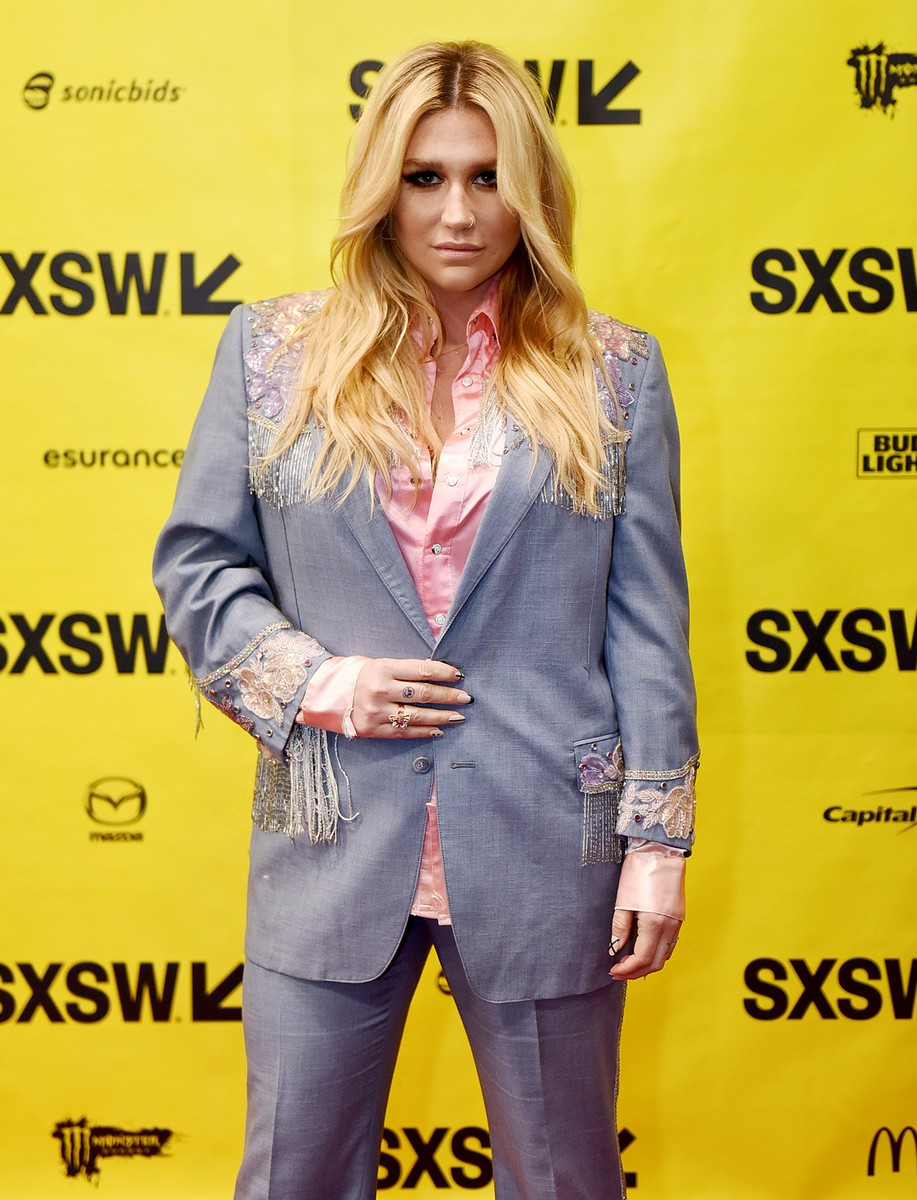 Kesha attends 'Refinery29's Amy Emmerich and Kesha Discuss Reclaiming the Internet' during 2017 SXSW Conference and Festivals at Austin Convention Center on March 14, 2017 in Austin, Texas.