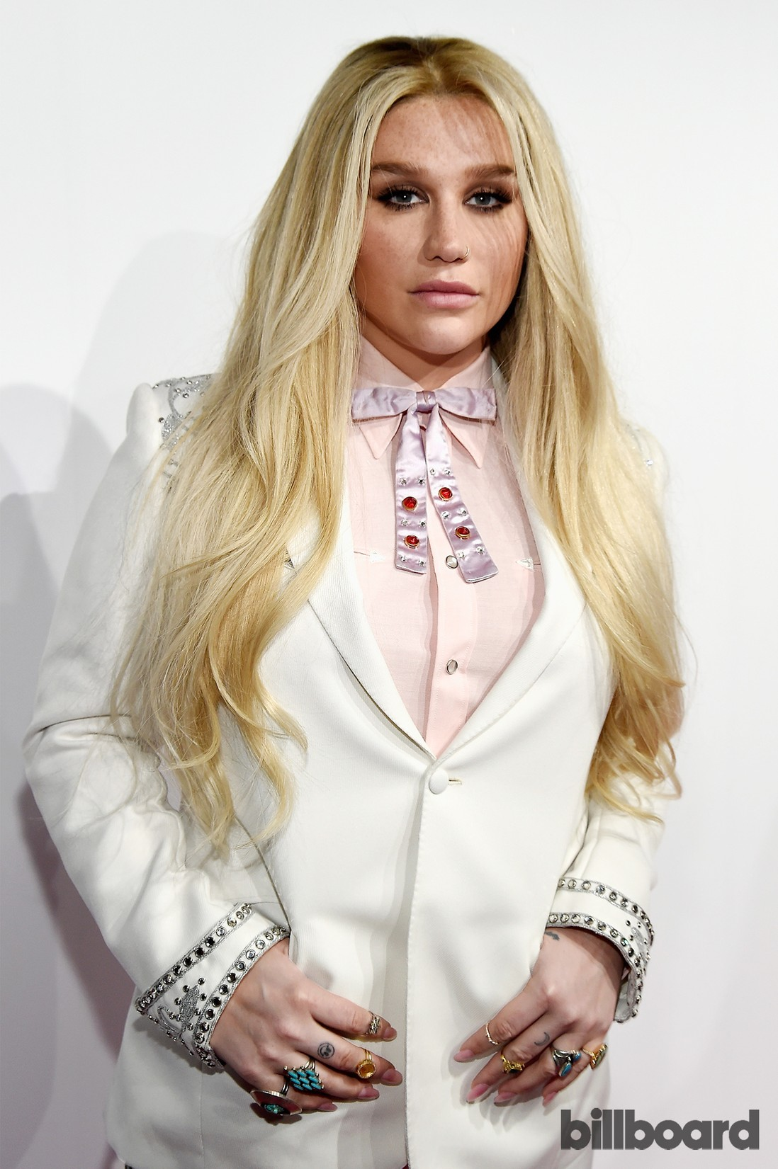 Kesha attends the Billboard Women in Music 2016 event on Dec. 9, 2016 in New York City.