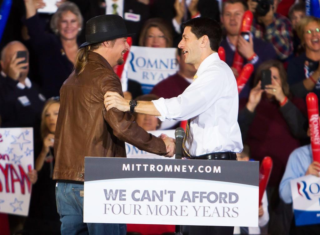 Kid Rock and Paul Ryan