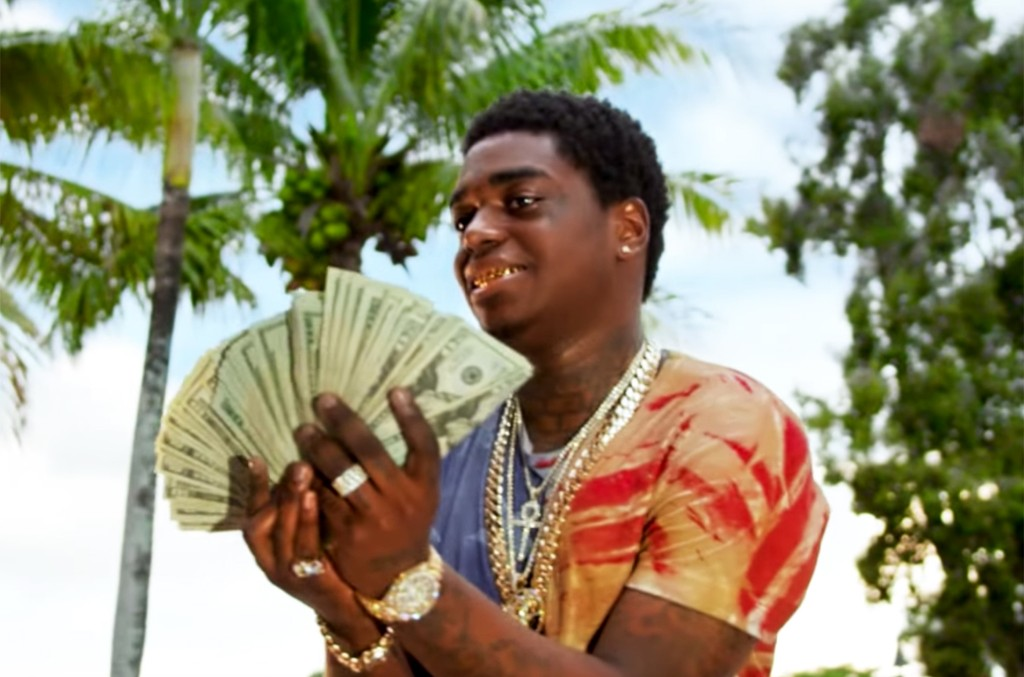 Kodak Black in the video for First Day Out