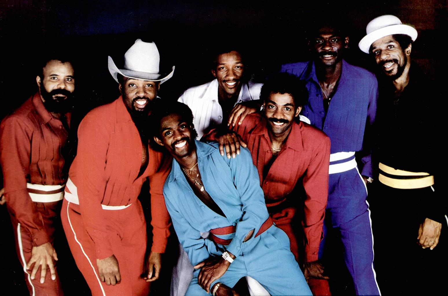 Kool and the Gang circa 1970s.