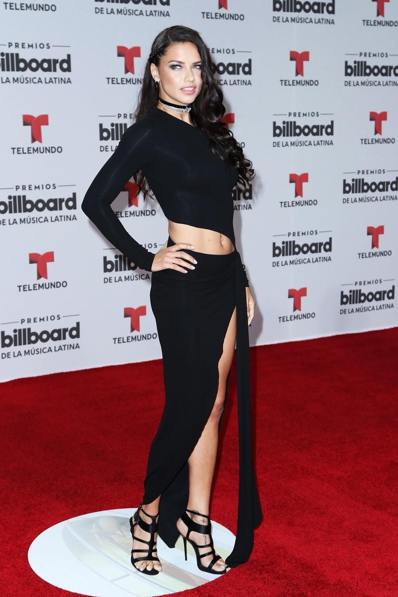 Adriana Lima attends the Billboard Latin Music Awards