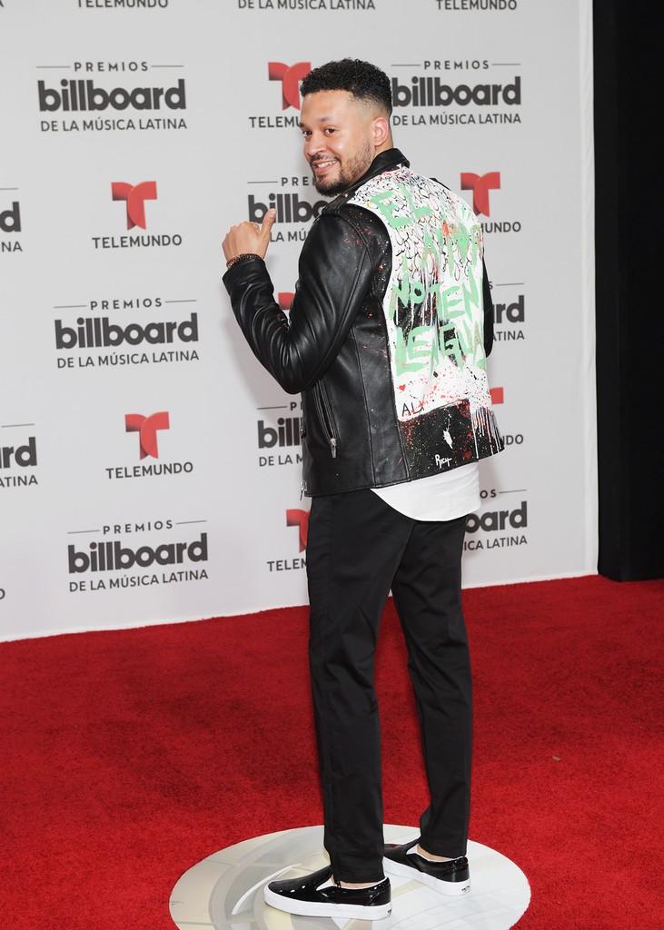 Alx Veliz attends the Billboard Latin Music Awards