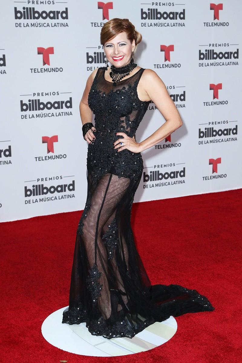 Carmen Jara attends the Billboard Latin Music Awards