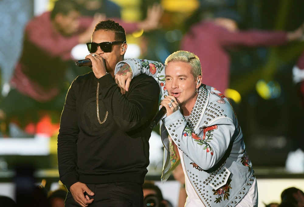 Fuego & J Balvin at the Billboard Latin Music Awards
