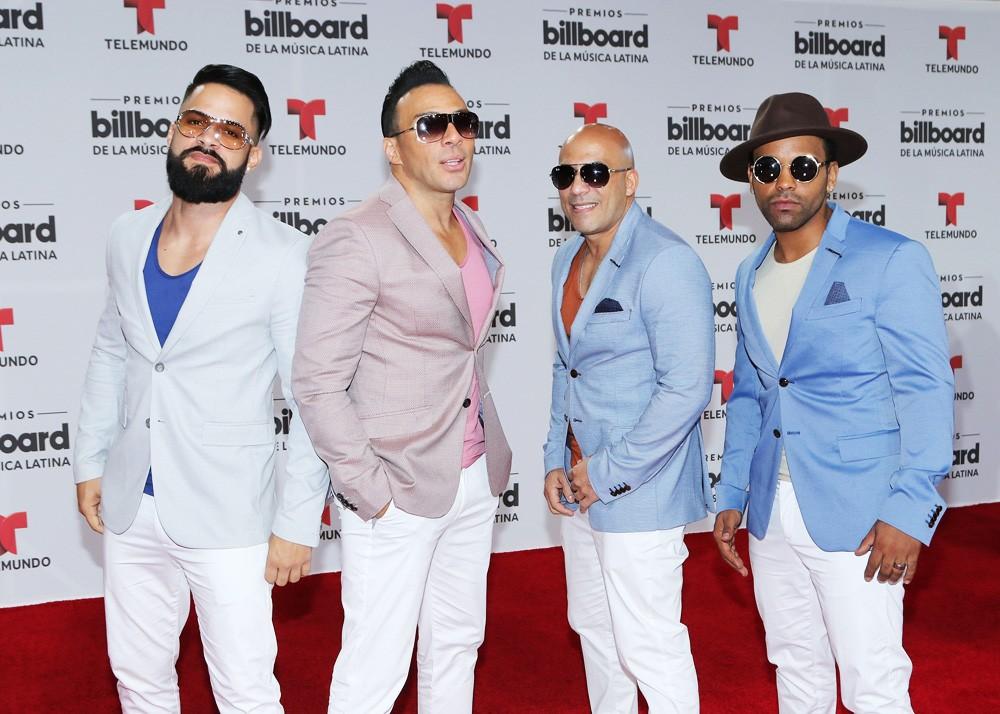 Grupo Mania attends the Billboard Latin Music Awards