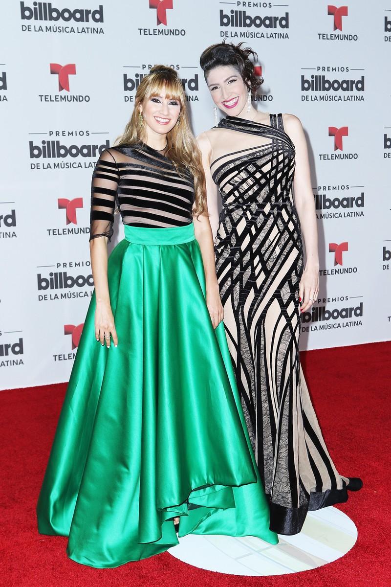 HaAsh attends the Billboard Latin Music Awards