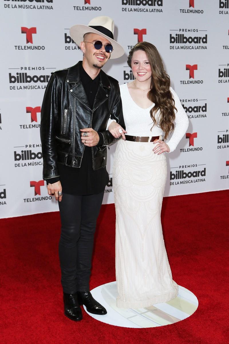Jesse & Joy attends the Billboard Latin Music Awards
