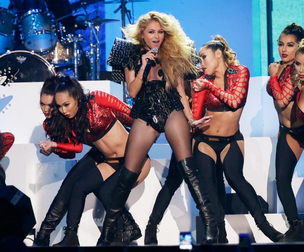 Paulina Rubio Performs at the Billboard Latin Music Awards