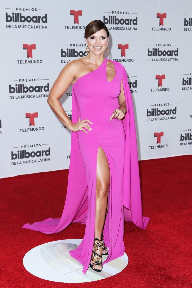 Rashel Diaz attends the Billboard Latin Music Awards