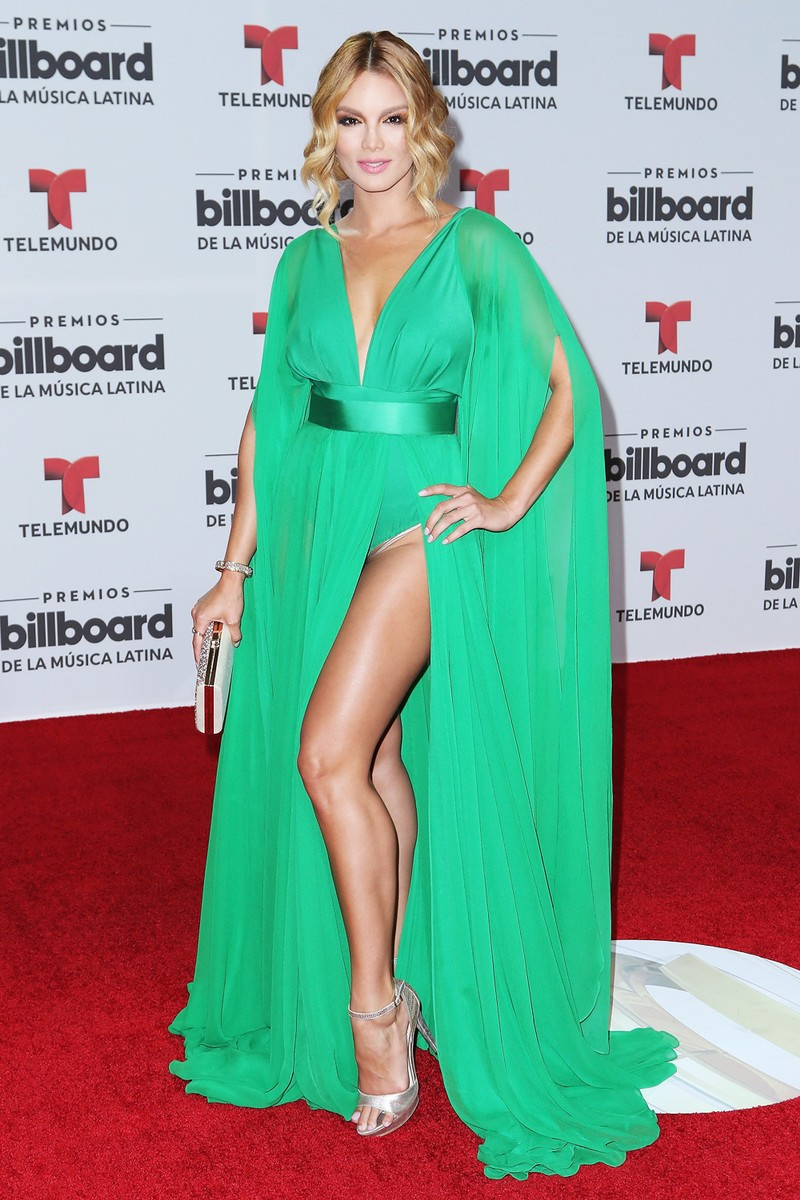 Zuleyka Rivera attends the Billboard Latin Music Awards