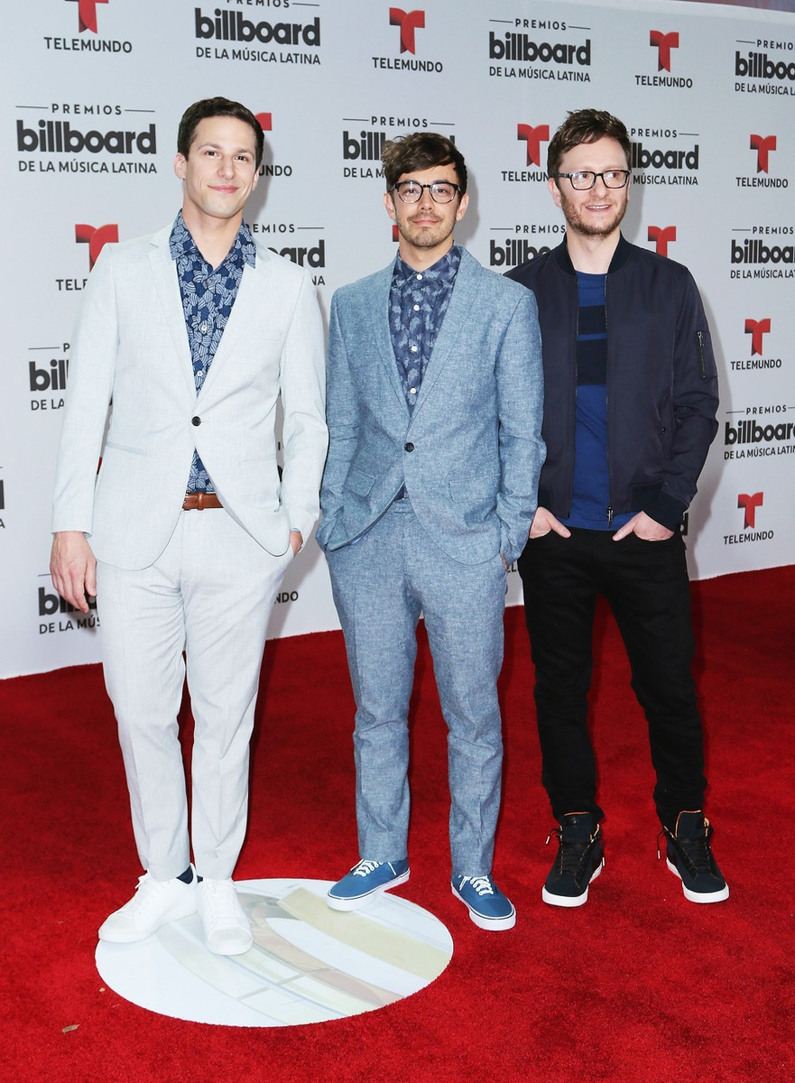 The Lonely Island attend the Billboard Latin Music Awards