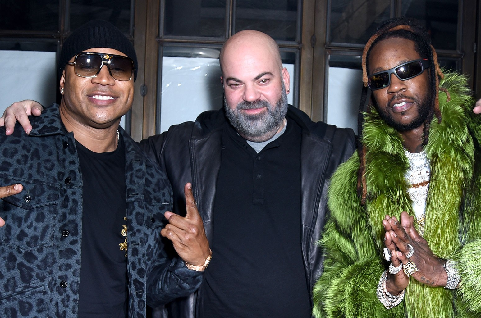 LL Cool J, Paul Rosenberg and 2 Chainz