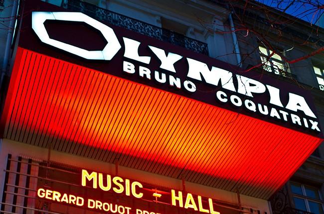 L'Olympia in Paris