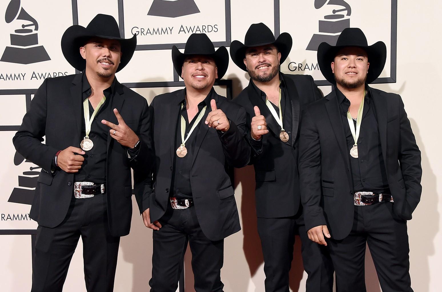 La Maquinaria Nortena attends The 58th Grammy Awards