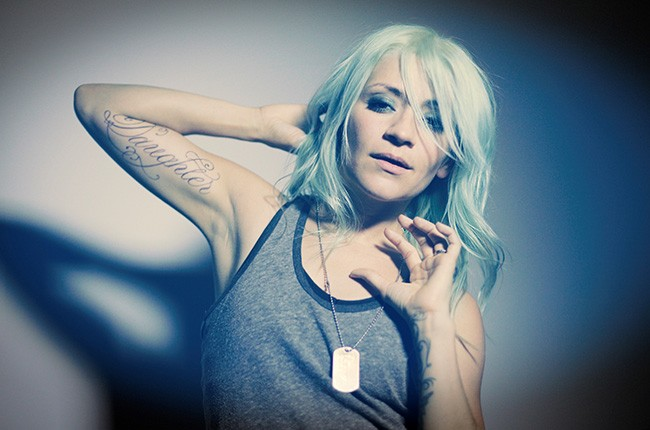Lacey Sturm photographed in 2016.
