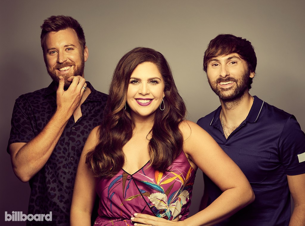 Lady Antebellum photographed on June 10, 2017 at Nissan Stadium in Nashville, Tenn.