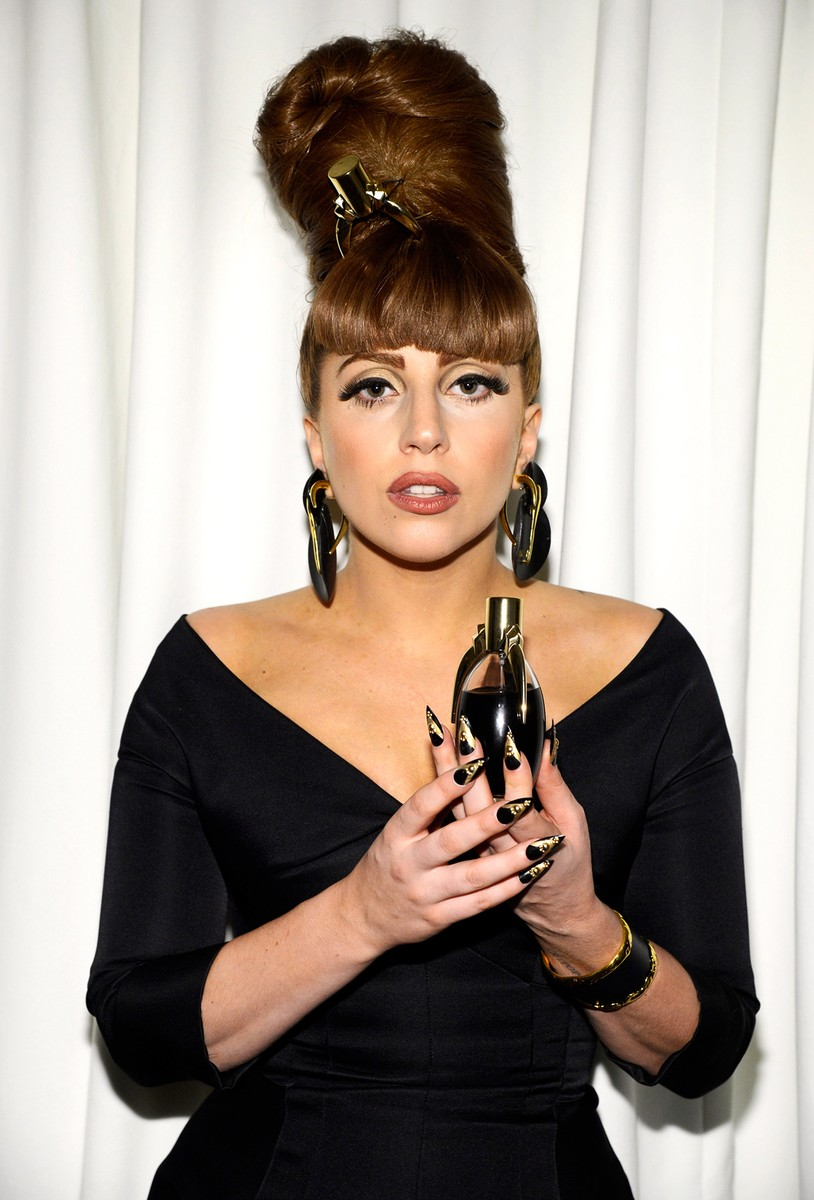 "Lady Gaga attends the Lady Gaga ""Fame"" eau de parfum launch at Macy's Herald Square on Sept. 14, 2012 in New York City."