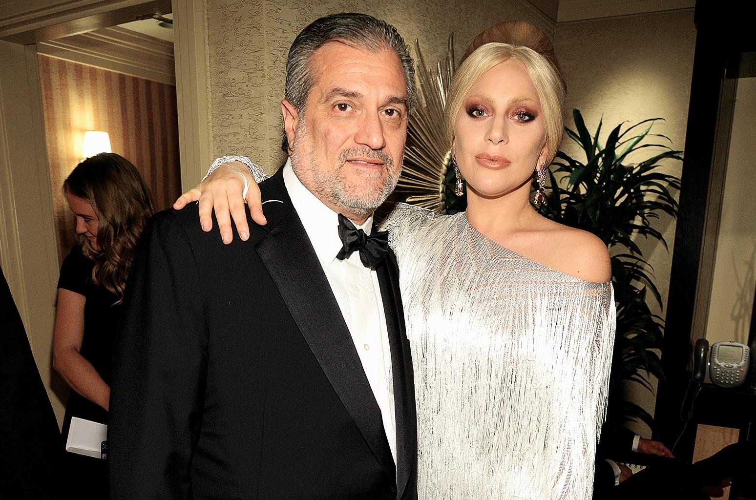 Joe Germanotta & Lady Gaga