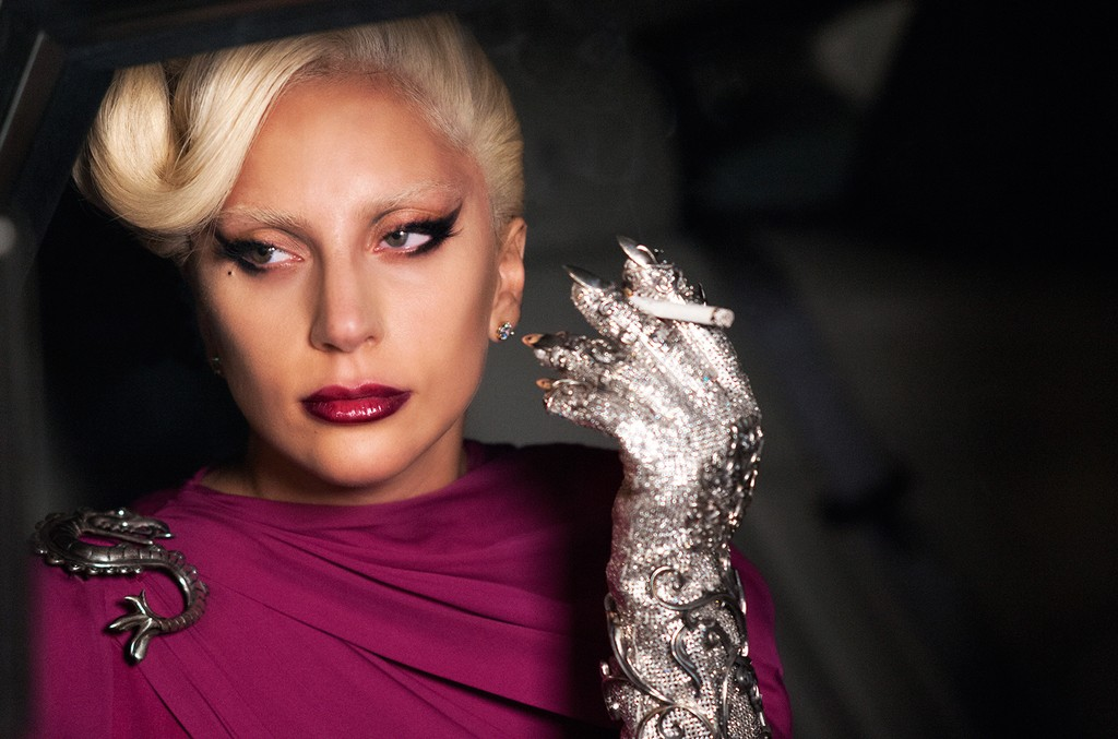 Lady Gaga on American Horror Story as the Countess.