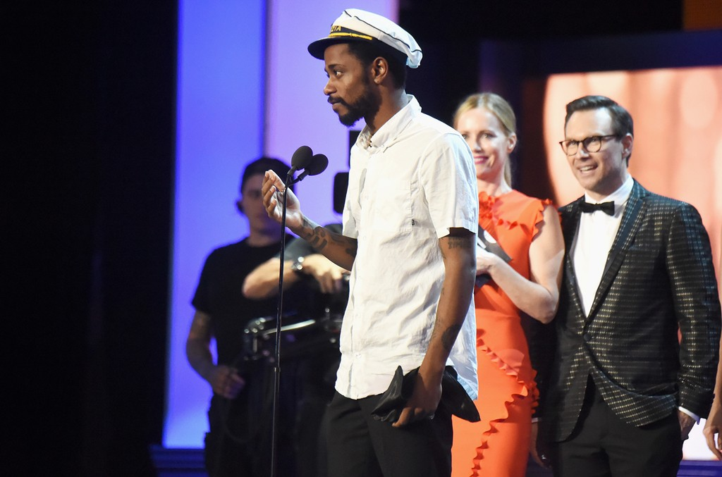 Lakeith Stanfield onstage during The 22nd Annual Critics' Choice Awards at Barker Hangar on Dec. 11, 2016 in Santa Monica, Calif.