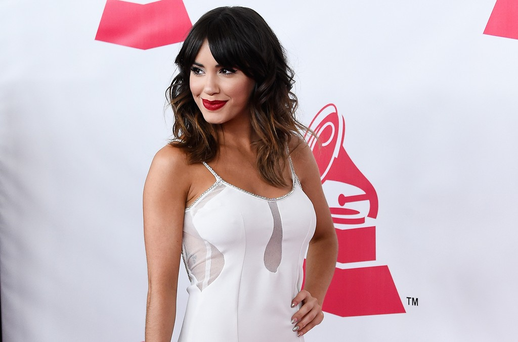 Lali Esposito attends the 2015 Latin Grammy Person of the Year