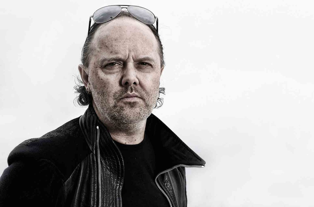 Lars Ulrich of Metallica during a portrait session at The 66th Annual Cannes Film Festival at the Palais des Festivals on May 16, 2013 in Cannes, France.