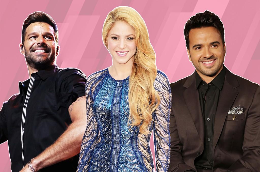 Ricky Martin, Shakira & Luis Fonsi
