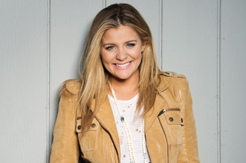 Lauren Alaina poses for a portrait at the 4th ACM Party For A Cause Festival on April 1, 2016 in Las Vegas.