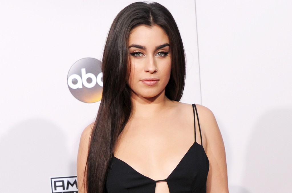 Lauren Jauregui of Fifth Harmony arrives at the 2016 American Music Awards at Microsoft Theater on Nov. 20, 2016 in Los Angeles.