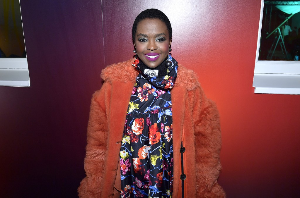 Lauryn Hill attends Kenzo La Collection Momento N°1 event at Kenzo Headquarters on March 1, 2017 in Paris.
