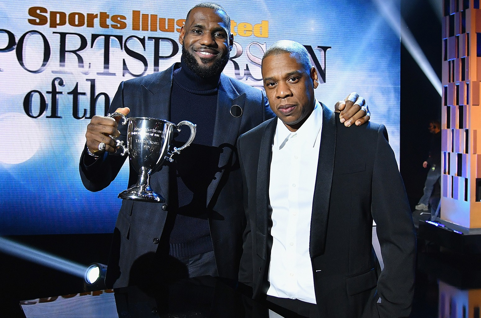 LeBron James and Jay Z