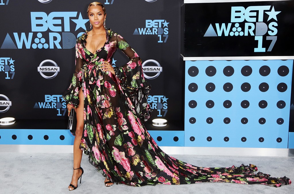 LeToya Luckett at the 2017 BET Awards at Microsoft Square on June 25, 2017 in Los Angeles.