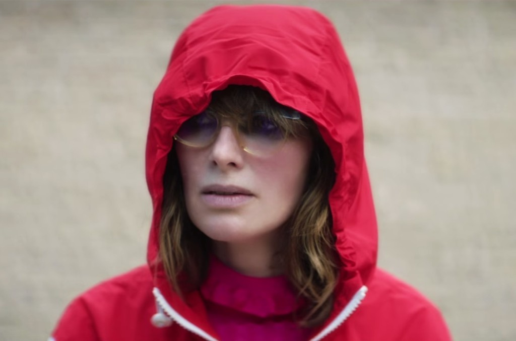 "Lena Headey in the video for Kasabian's ""Ill Ray (The King)"""