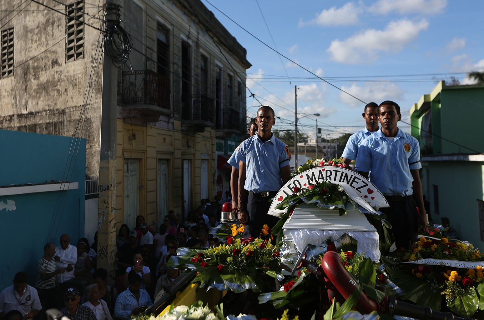 Martinez was assassinated along with his colleague Luis Manuel Medina. Two journalists were killed during a live radio broadcast by unknown gunmen.