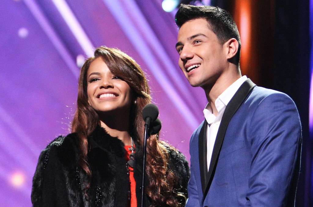 Leslie Grace and Luis Coronel