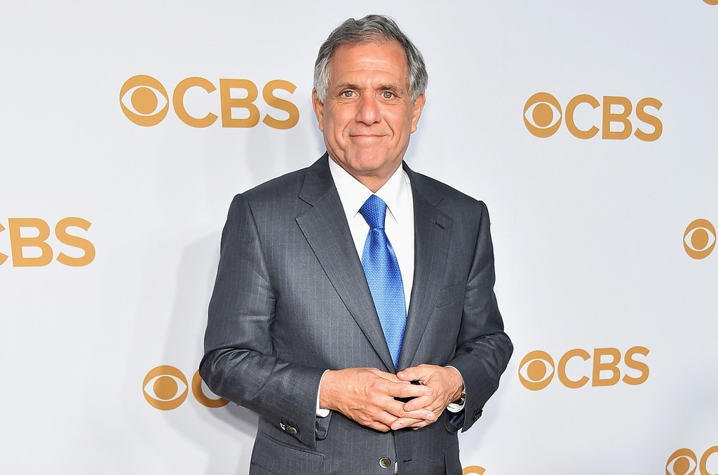 Leslie Moonves attends the 2015 CBS Upfront at The Tent at Lincoln Center on May 13, 2015 in New York City.