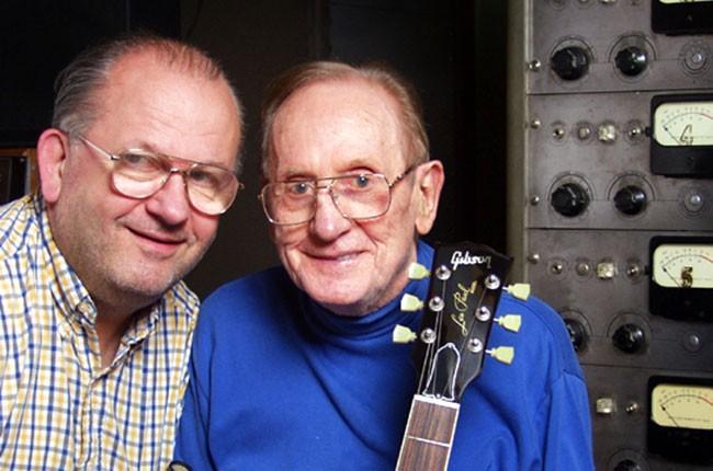 """Lester """"Rusty"""" G. Paul & Les Paul"""