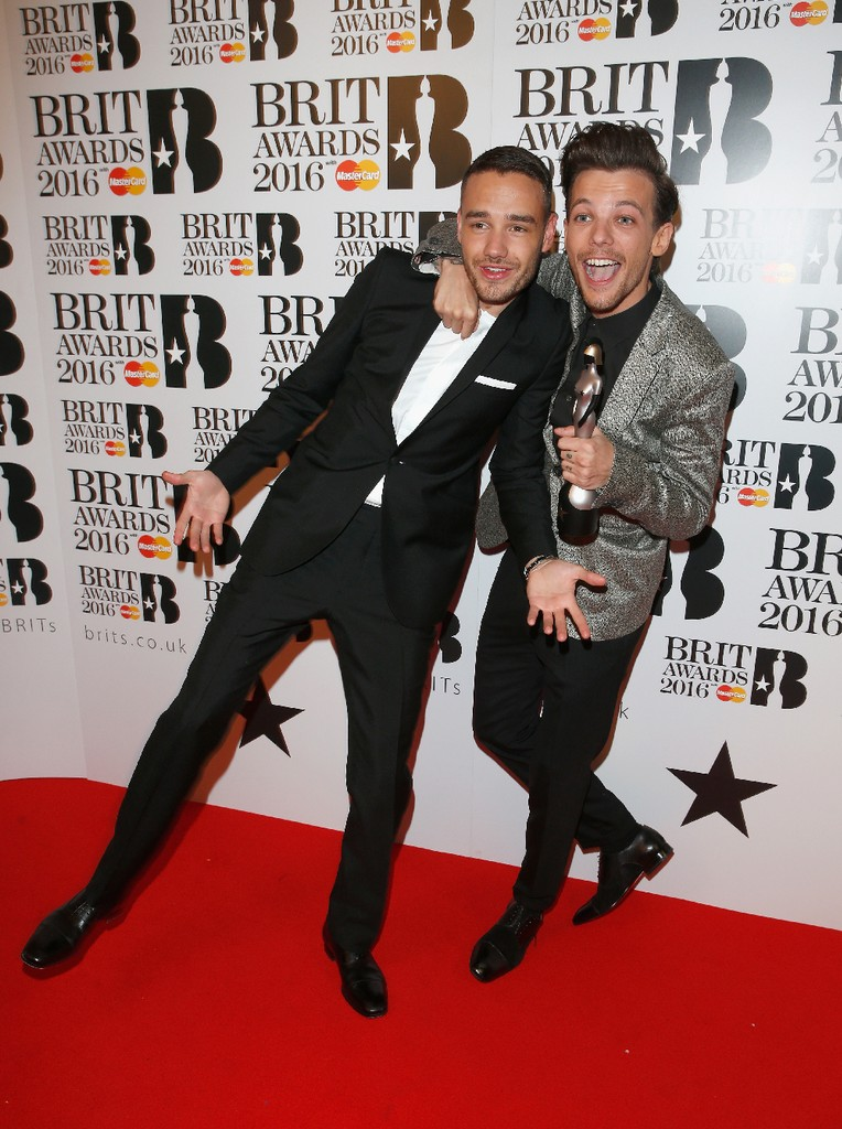 Liam Payne and Louis Tomlinson from One Direction