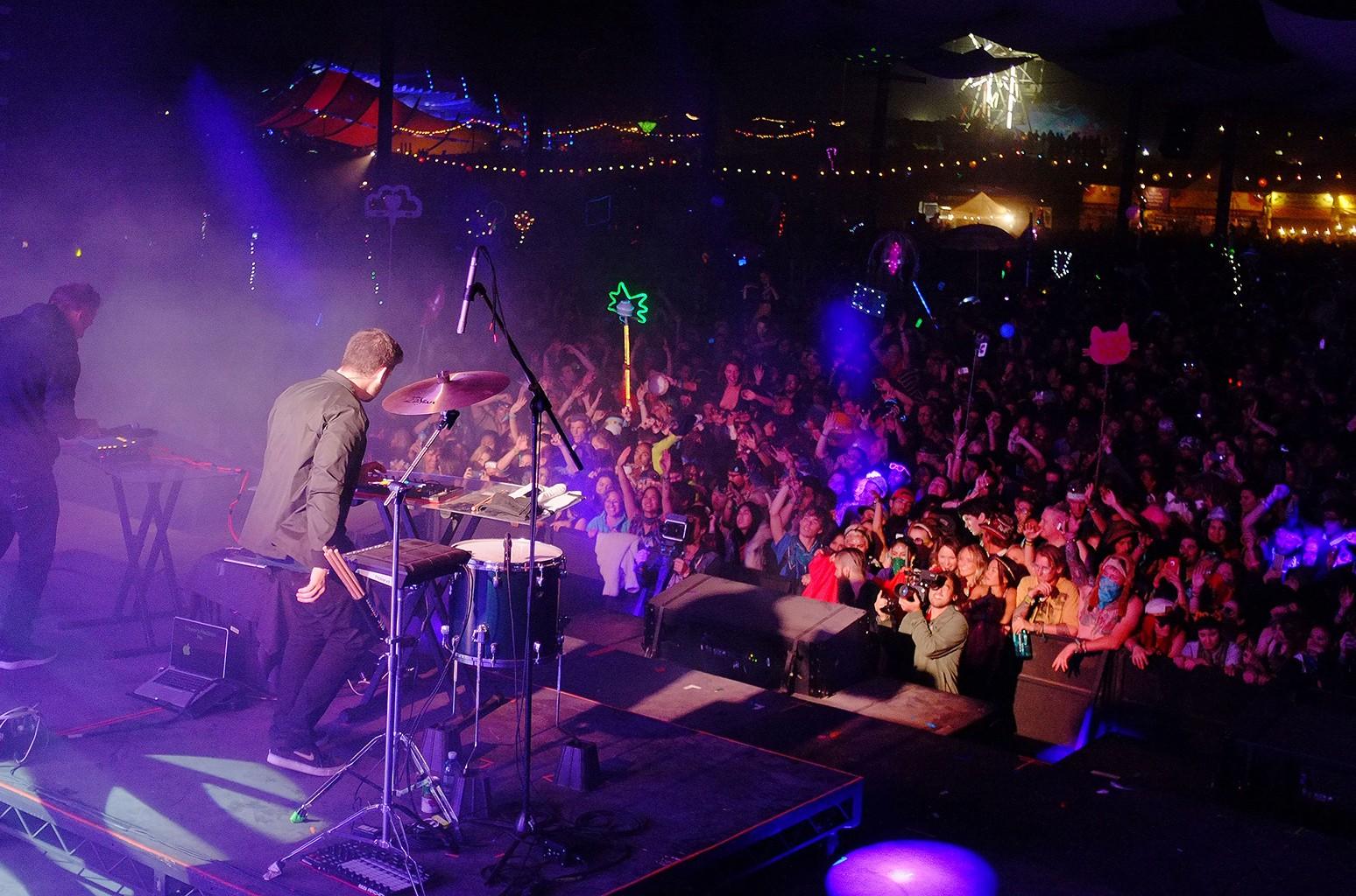 Lightning In A Bottle Festival 2015 in San Miguel, Calif.