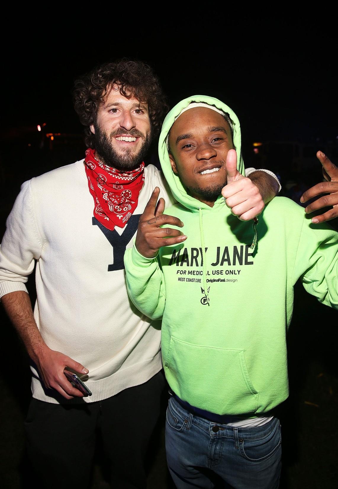 Lil Dicky and Slim Jxmmi