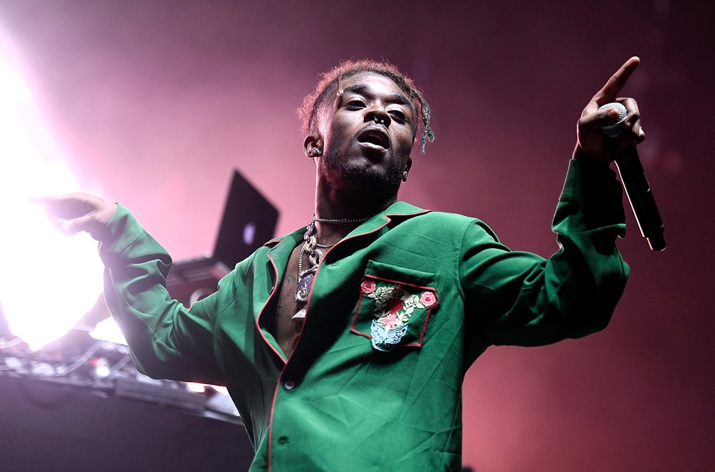 Lil Uzi Vert performs at Exposition Park on Nov. 12, 2016 in Los Angeles.