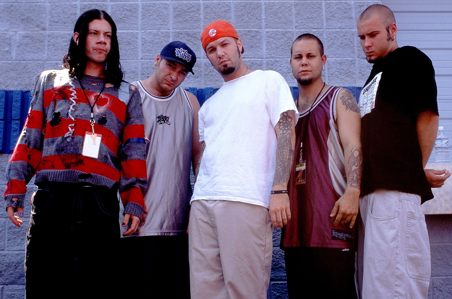 Limp Bizkit photographed on Sept. 6, 1997.