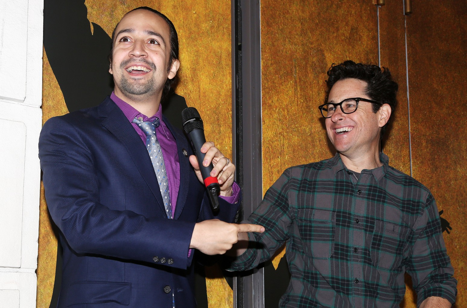 Lin Manuel Miranda and J.J. Abrams perform Broadway 2016