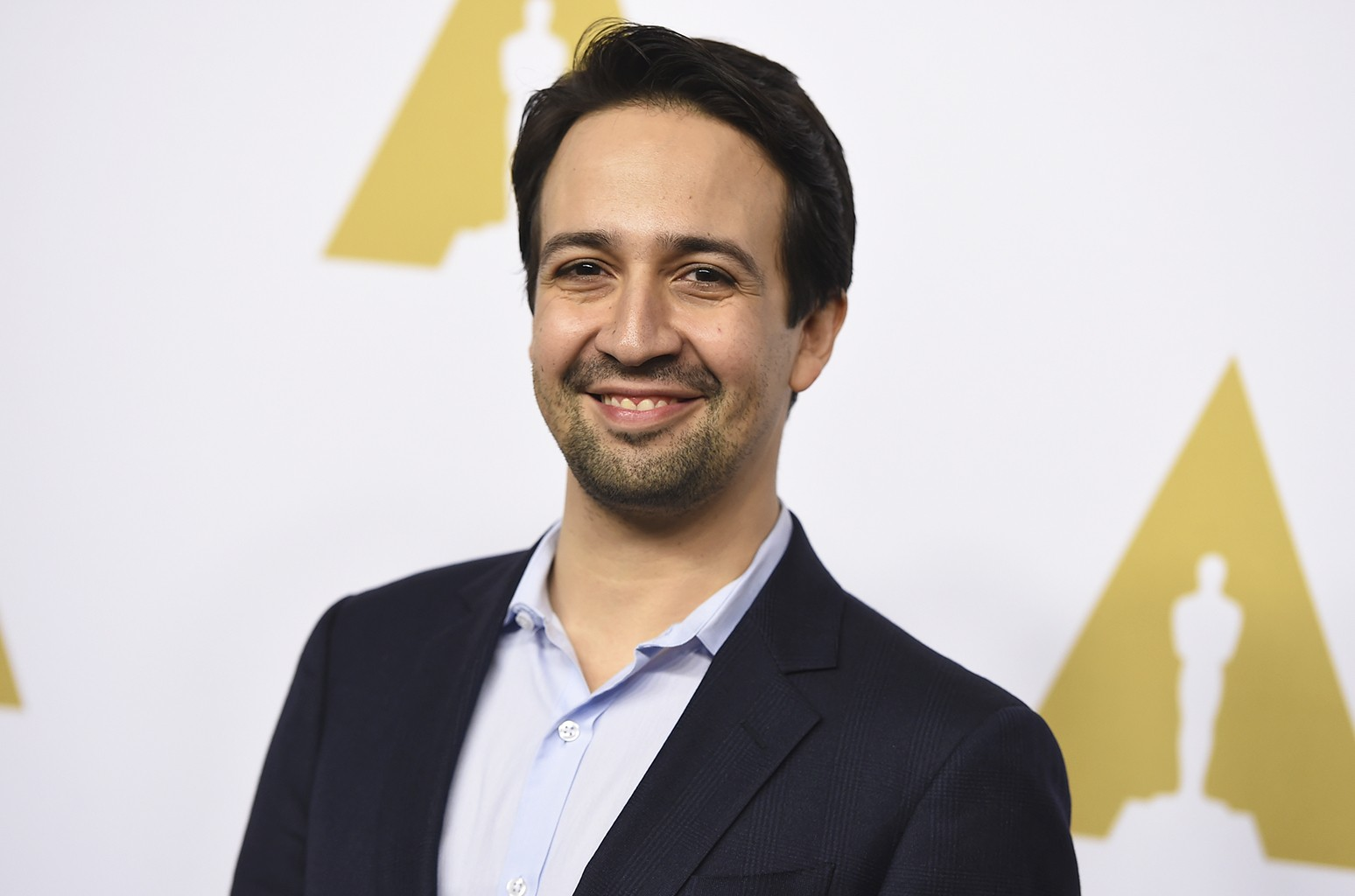 Lin-Manuel Miranda arrives at the 89th Academy Awards Nominees Luncheon at The Beverly Hilton Hotel on Feb. 6, 2017 in Beverly Hills, Calif.
