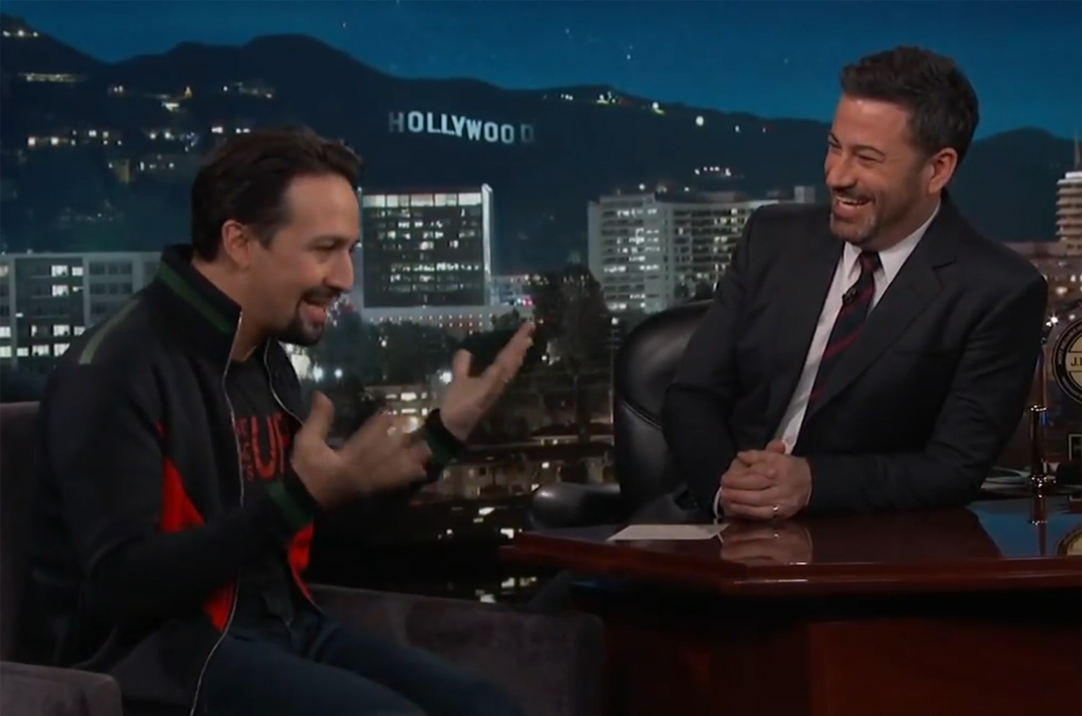 Lin-Manuel Miranda on Jimmy Kimmel Live!