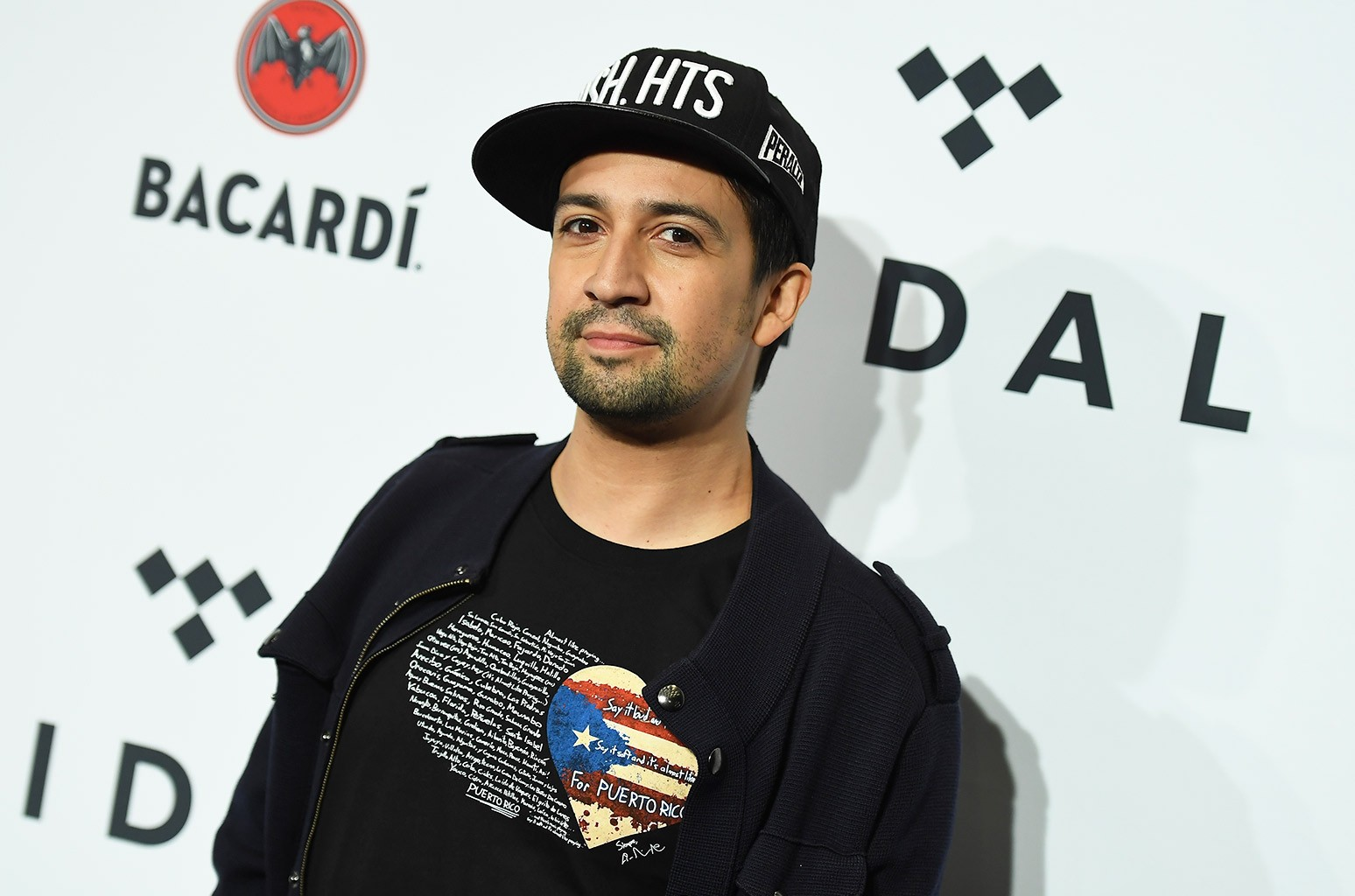 Lin-Manuel Miranda attends the Stream TIDAL X: Brooklyn Benefit Concert at Barclays Center of Brooklyn on Oct. 17, 2017 in New York.