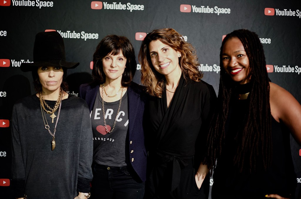 From left: Linda Perry, Anne Preven, Maria Egan and Jo-Ná Williams, Esq.