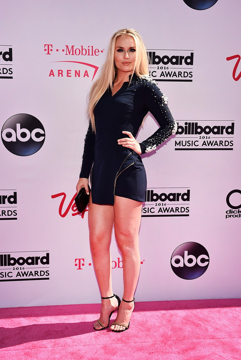 Lindsey Vonn at the 2016 Billboard Music Awards